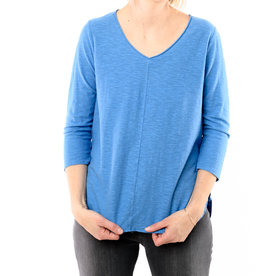 CUT LOOSE 3/4 SLEEVE V-NECK