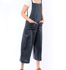 4OUR DREAMERS LINEN OVERALLS