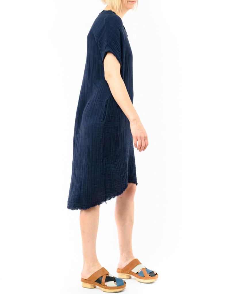IT IS WELL V-NECK GAUZE DRESS