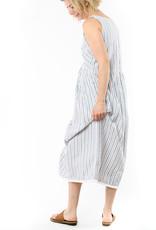 LILLA P BUTTON BACK DRESS