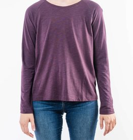 LILLA P LONG SLEEVE PLEAT BACK