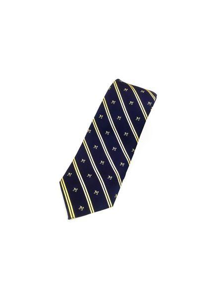 A. Christensen A. Christensen Navy Maize Stripe M