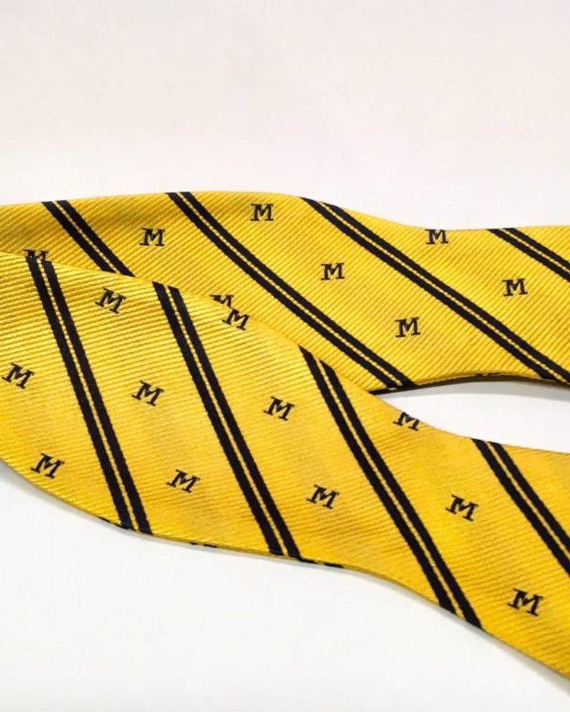A. Christensen A. Christensen M Bow Tie Maize w/stripe