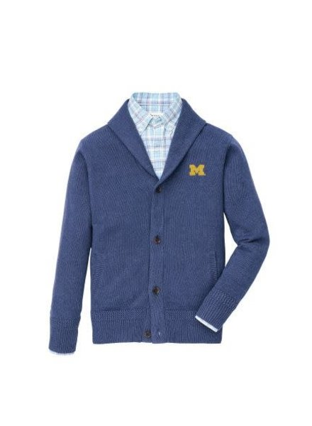 Peter Millar Peter Millar Seaside M Full Button Cardigan Sweater