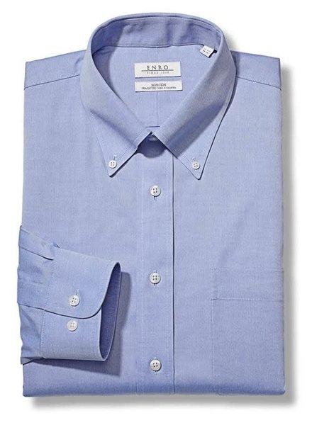 Enro Enro Solid Button Down Collar Dress Shirt**