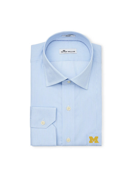 Peter Millar Peter Millar Crown Finish Block M LS Shirt