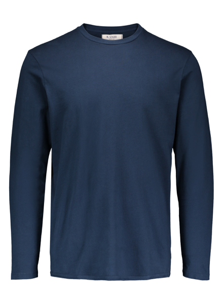 M. Singer M. Singer Navy Long Sleeve Tee