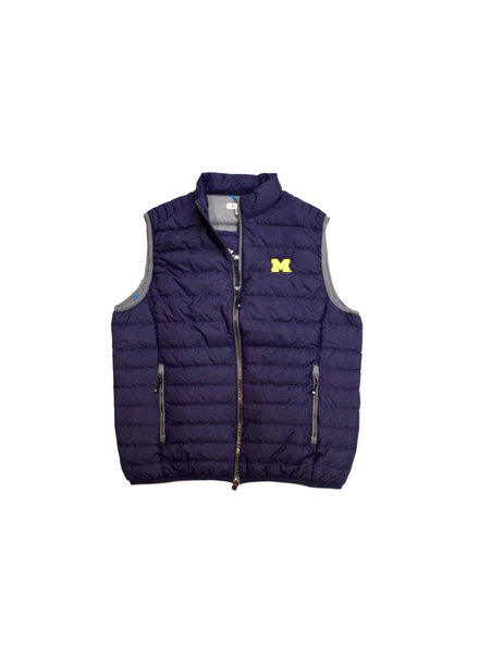 Peter Millar Peter Millar Michigan Navy Crown Elite Light Down Vest