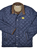 Peter Millar Peter Millar Michigan Navy Crown Suffolk Car Coat