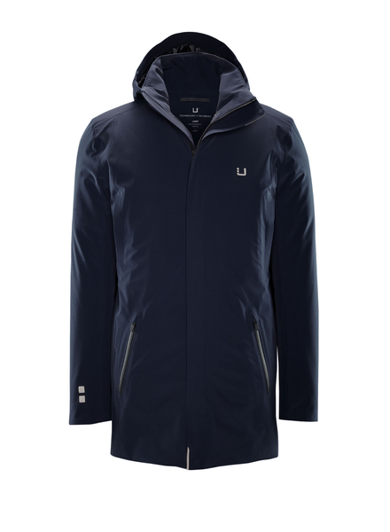UBR Navy Regulator Parka with Detachable Hood