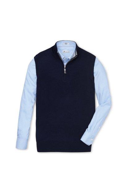 Peter Millar Peter Millar 1/4 Zip Sweater Vest
