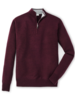 Peter Millar Peter Millar Crown Soft 1/4 Zip Sweater in Acai