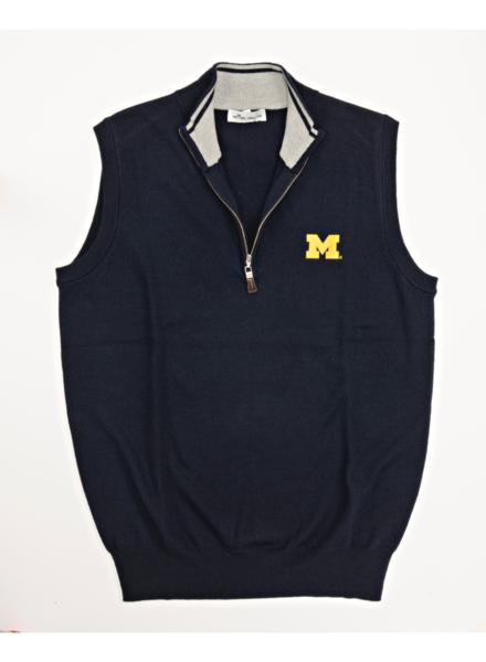 Peter Millar Peter Millar M 1/4 Zip Sweater Vest