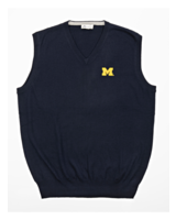 Peter Millar Peter Millar Block M V-Neck Sweater Vest