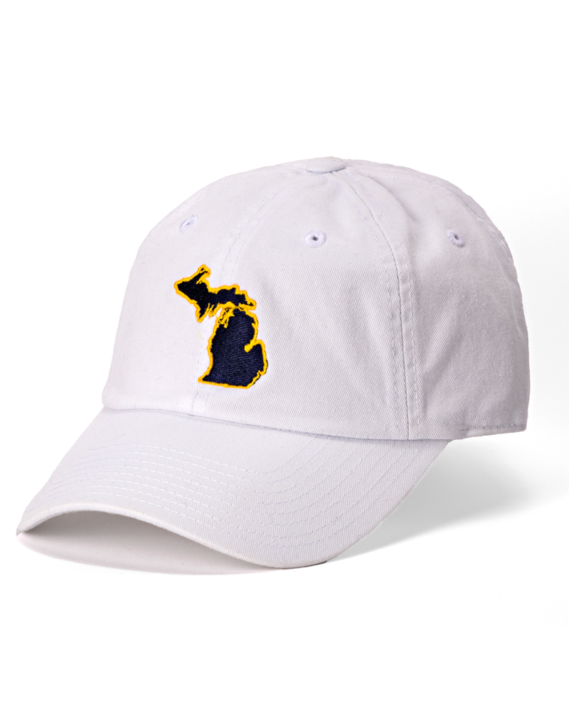 State Traditions State Traditions White Michigan Ann Arbor Gameday Hat