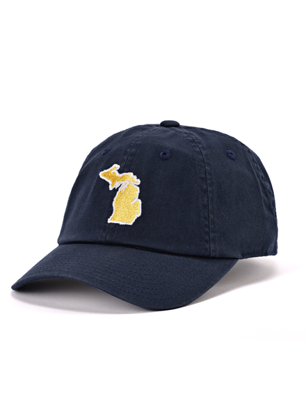 State Traditions State Traditions Navy Michigan Ann Arbor Gameday Hat