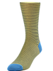 Marcoliani Marcoliani Pima Cotton Lisle Palio Stripe M Socks