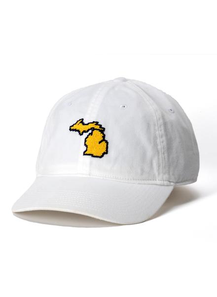 Smathers & Branson Smathers & Branson Needlepoint State of Michigan Hat