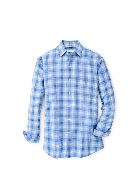 Peter Millar Peter Millar Whitehaven Linen-Blend Sport Shirt