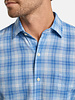 Peter Millar Peter Millar Whitehaven Linen-Blend Sport Shirt Crown Collection