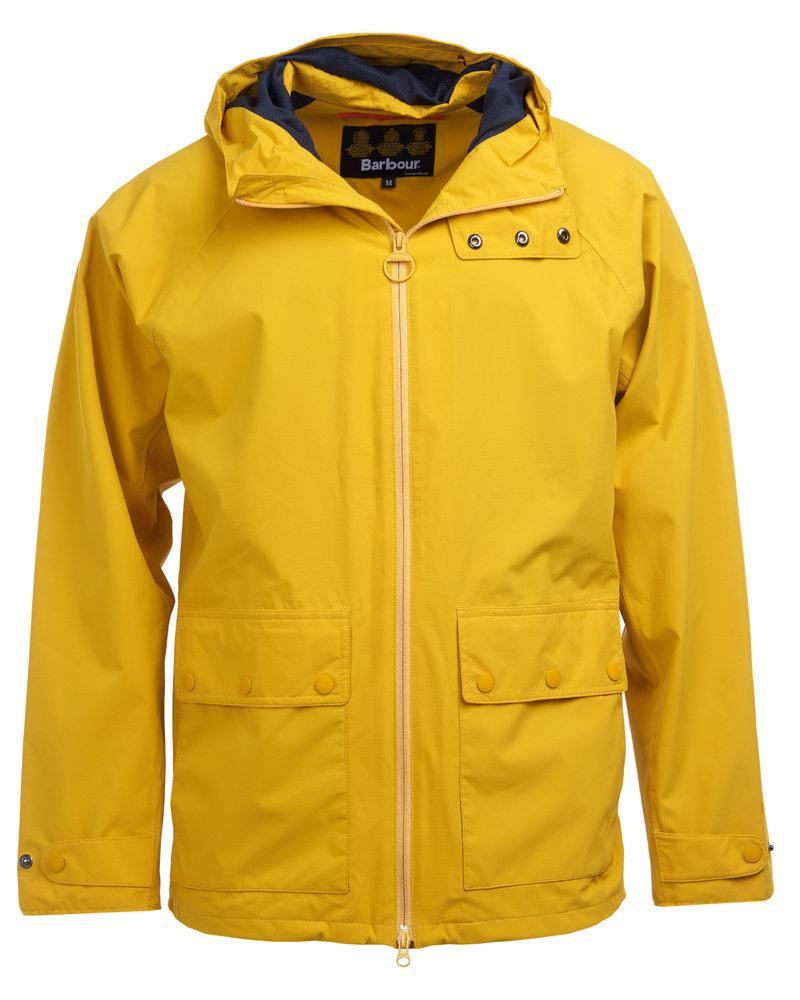 Barbour Barbour Weld Waterproof Jacket Golden