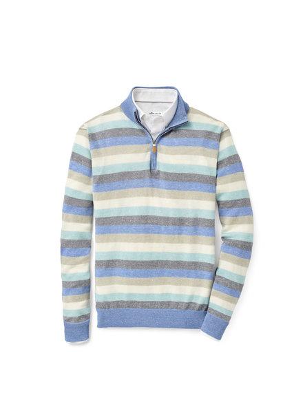 Peter Millar Peter Millar Williams Wool-Linen Quarter-Zip Sweater