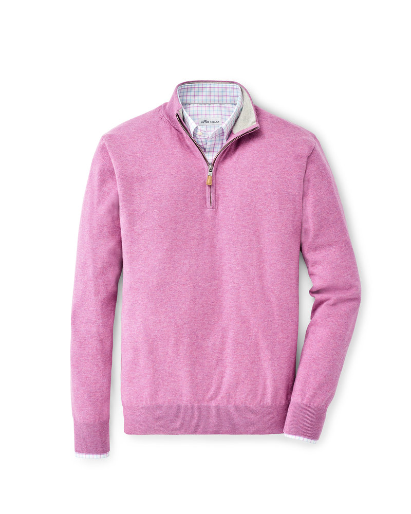 Peter Millar Peter Millar Crown Soft Quarter-Zip Sweater Crown Collection