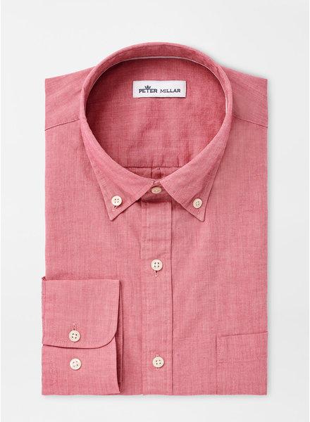 Peter Millar Peter Millar Garment Dyed Cotton-Blend Sport Shirt