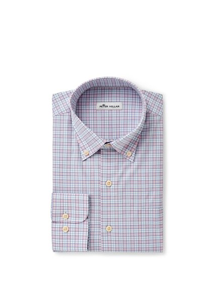 Peter Millar Peter Millar Clarence Cotton-Blend Sport Shirt