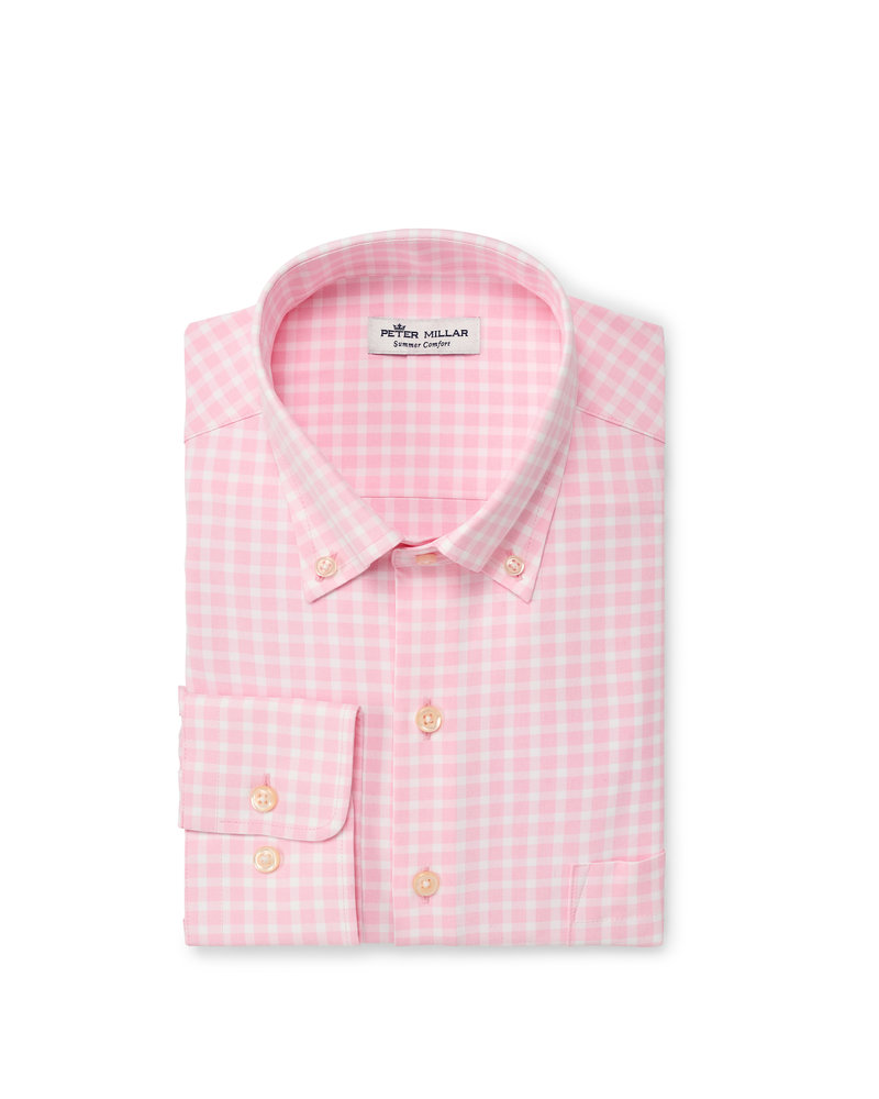 Peter Millar Peter Millar Winston Natural Touch Sport Shirt Crown Sport Collection