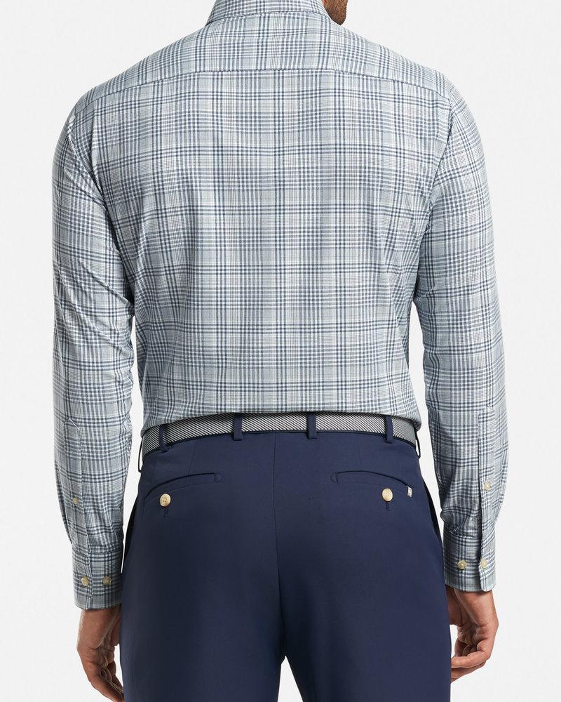 Peter Millar Peter Millar Angus Natural Touch Sport Shirt Crown Sport Collection