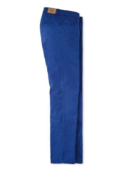 Peter Millar Peter Millar Broken Twill Cotton-Blend Five-Pocket Pant