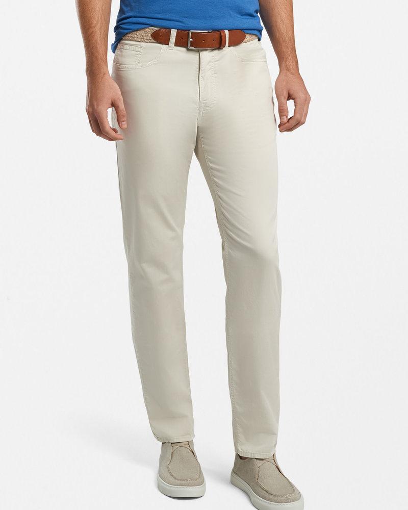 Peter Millar Peter Millar Broken Twill Cotton-Blend Five-Pocket Pant Seaside Collection