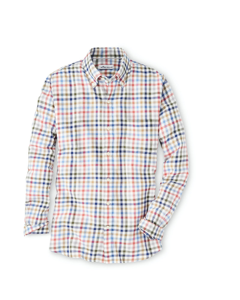 Peter Millar Peter Millar Cotton Flannel Sport Shirt