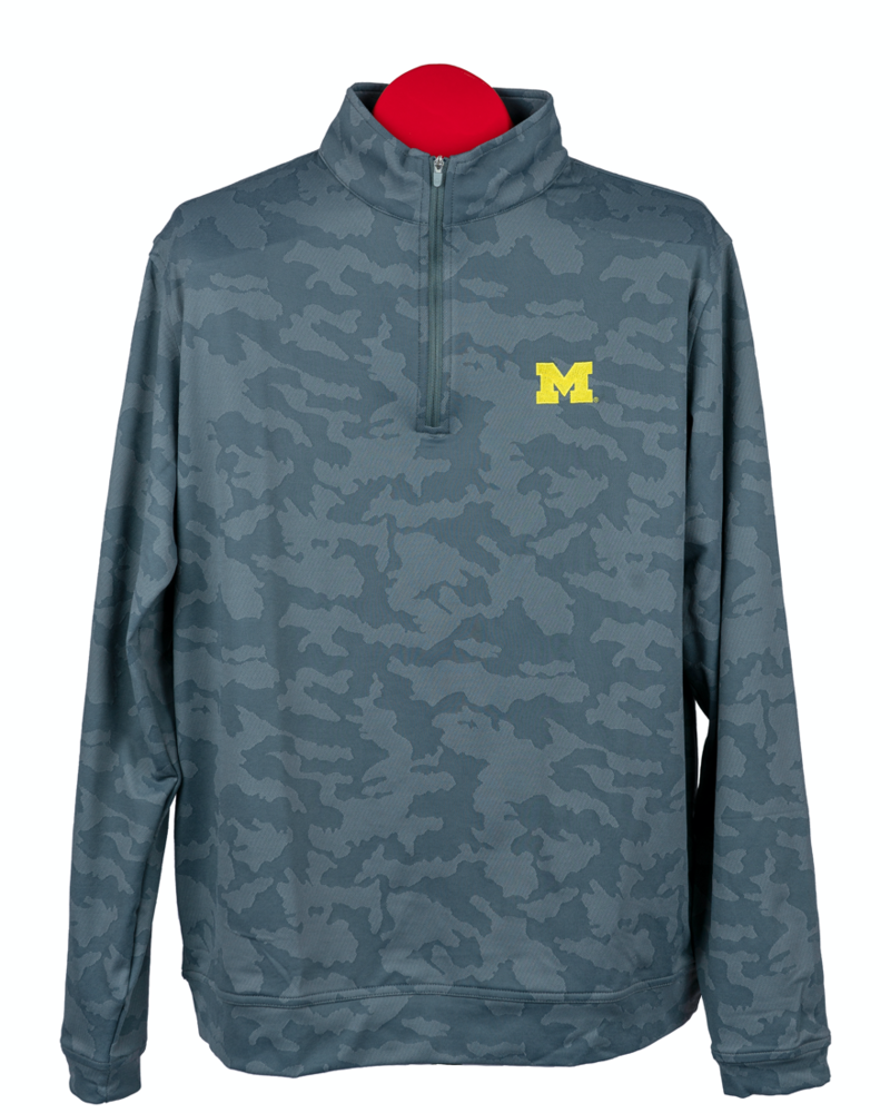Peter Millar Peter Millar Michigan Camo Quarter Zip
