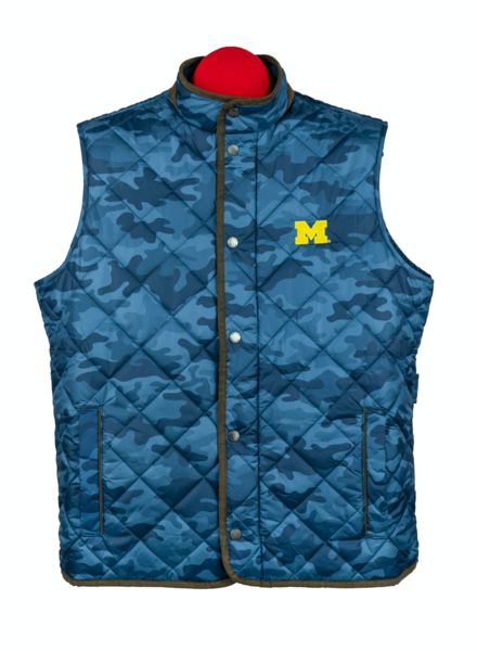 Peter Millar Peter MIllar Michigan Quilted Travel Vest