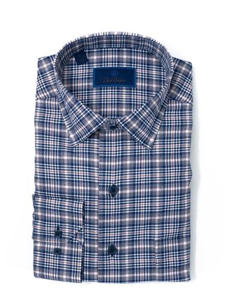 David Donahue David Donahue Plaid Sport Shirt