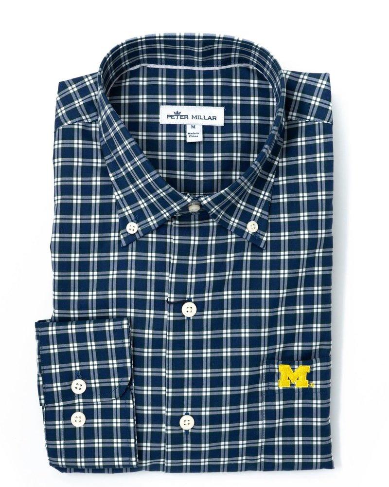 Peter Millar Peter MIllar Michigan Crown Soft Baldwin Sport Shirt