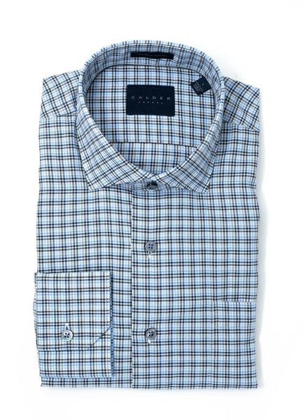 Calder Calder Cotton Gingham Sport Shirt