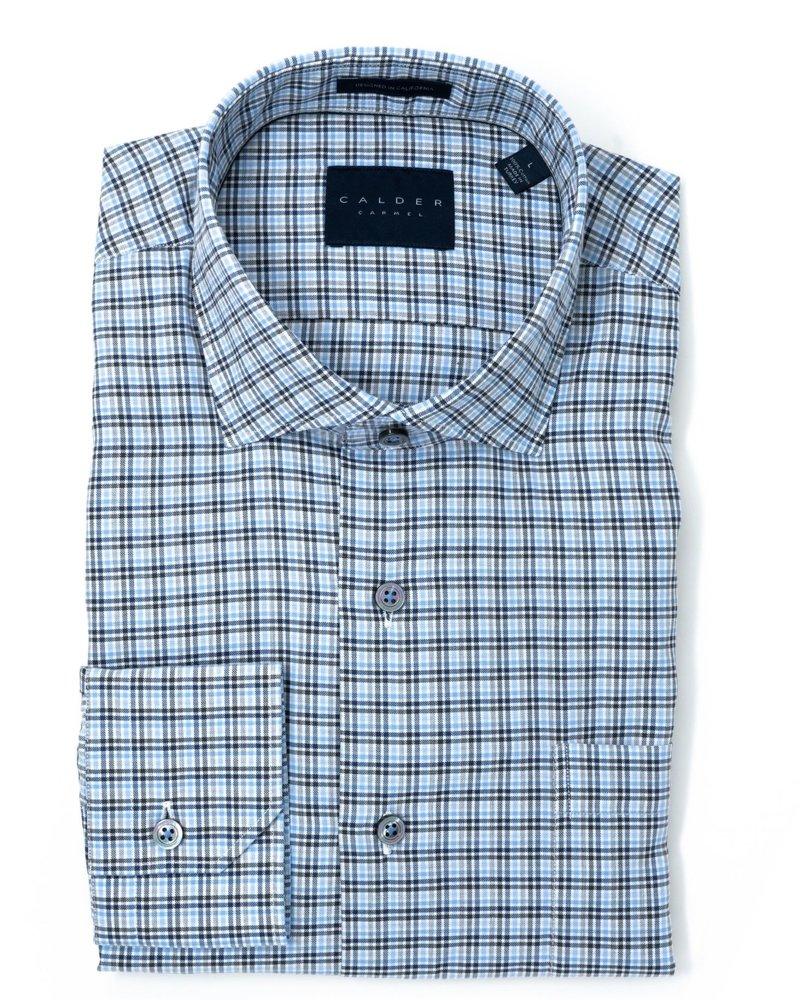 Calder Calder Cotton Gingham Sport Shirt
