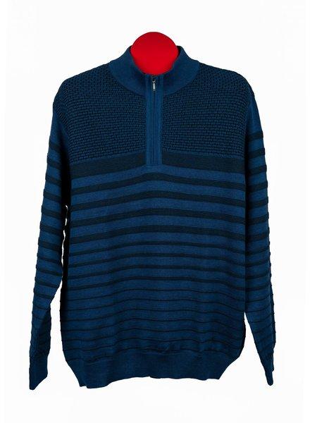 St. Croix St. Croix Mock 1/4 Zip Sweater