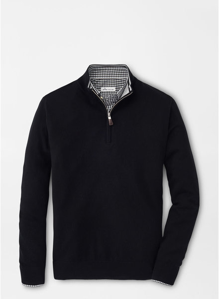 Peter Millar Peter Millar Crown Soft Merino-Silk Quarter-Zip Sweater