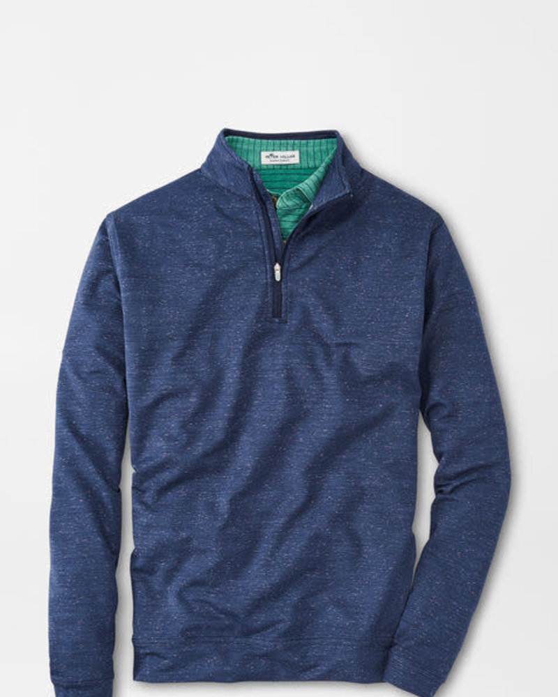 Peter Millar Peter Millar Space Dye Perth Performance Pullover Crown Sport