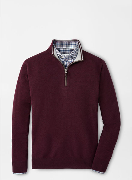 Peter Millar Peter Millar Quarter-Zip Sweater with Contrast Trim