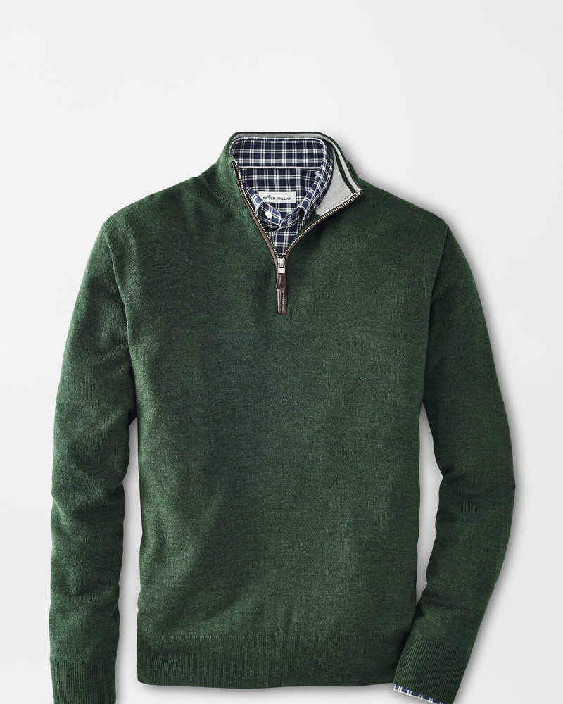 Peter Millar Peter Millar Quarter-Zip Sweater with Contrast Trim