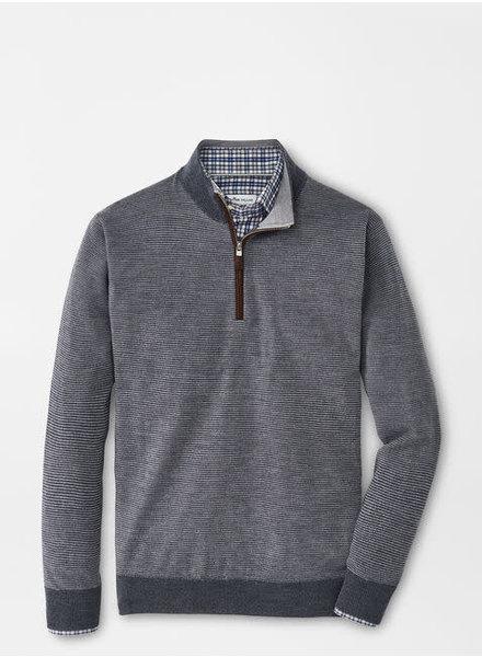 Peter Millar Peter Millar Needle-Stripe Wool Quarter-Zip