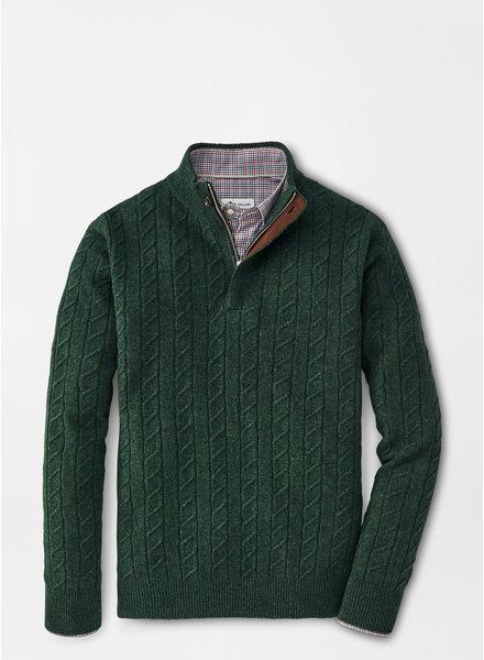 Peter Millar Peter Millar Wool Cable Quarter-Zip
