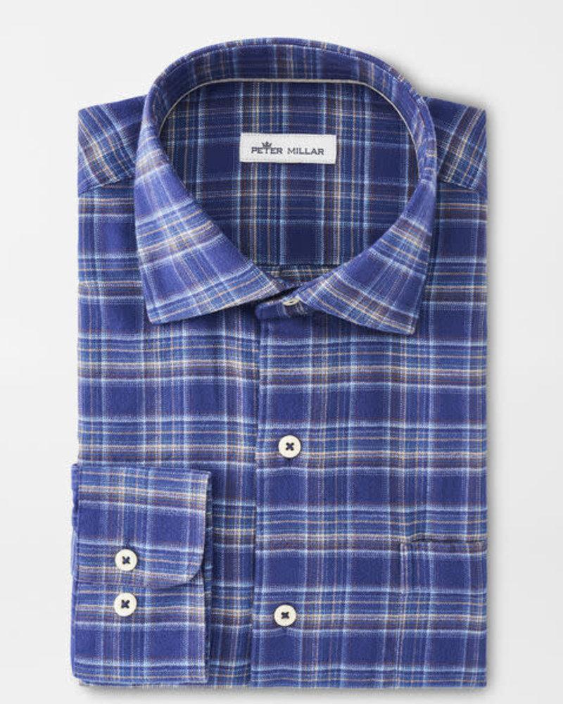 Peter Millar Peter Millar Hugh Flannel Sport Shirt Crown Collection