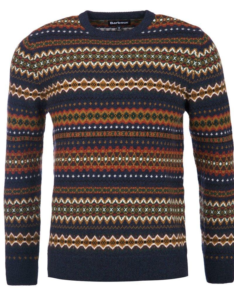 Barbour Barbour Fairisle Crew Neck Sweater
