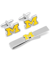 Cufflinks Inc University of Michigan Cufflink & Tie Bar Set